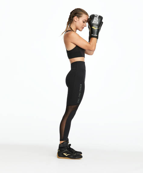 Compression boxing leggings
