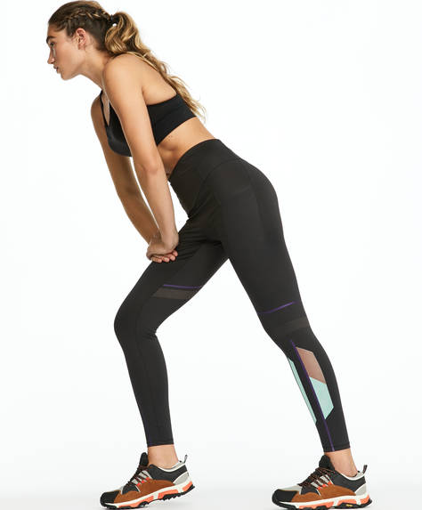 Leggings estampado reflectante