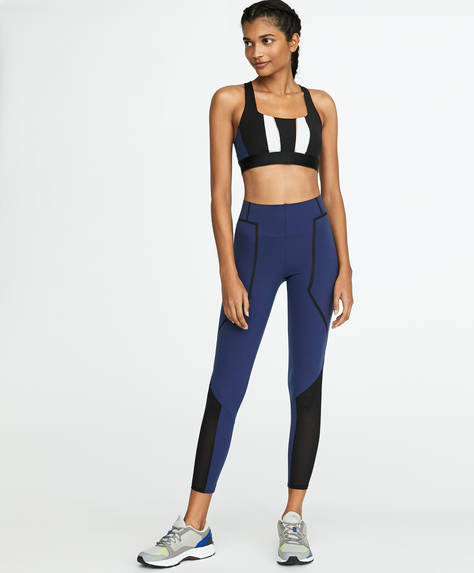 Leggings colour-block