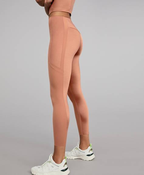 Shine block shapewear leggings