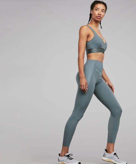 Shine block shapewear leggings