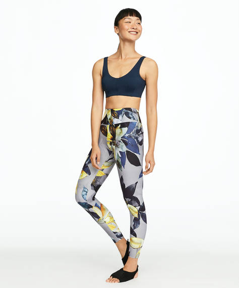 Leggings estampados flor