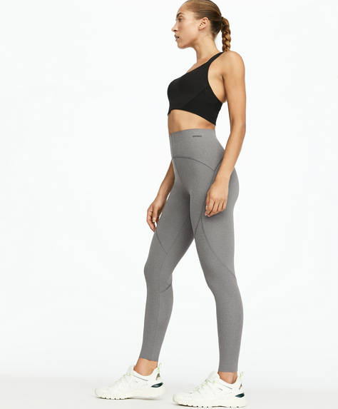 Grey compression leggings