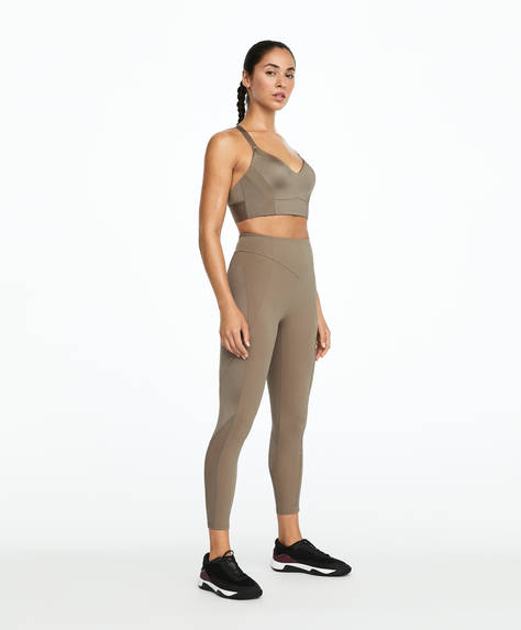 Slogan shapewear leggings