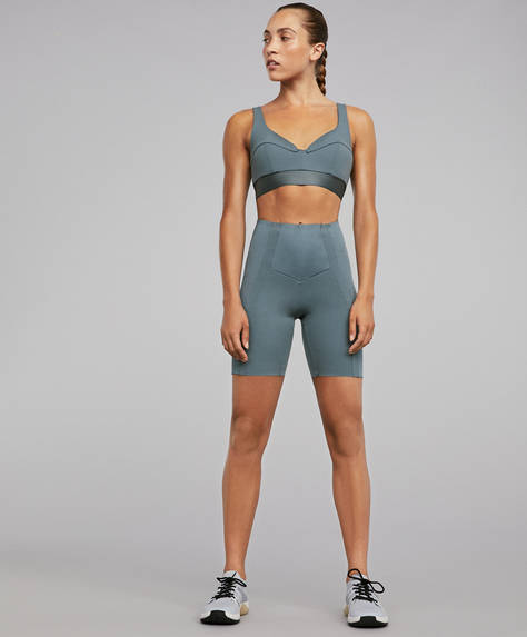 Shine block shapewear cycling shorts