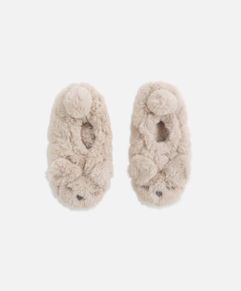 Cute dog slippers