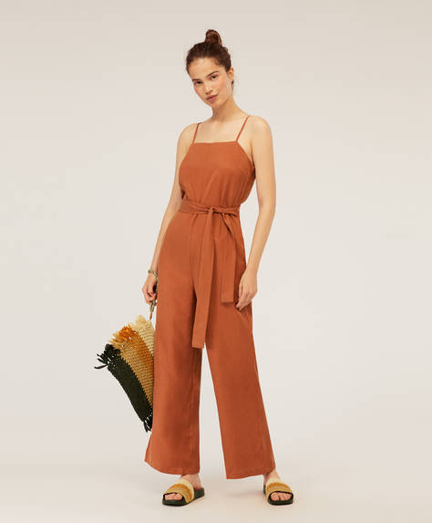 Jumpsuit largo Tencel®