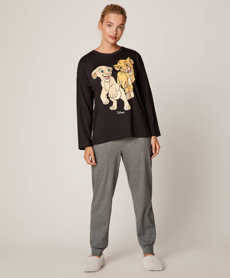 Ensemble de pyjama long Roi lion ©Disney