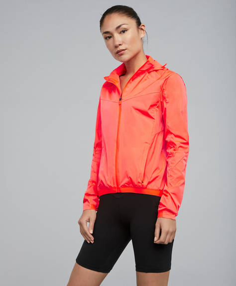 SPIN YOUR LIMITS fluorescent cycling jacket