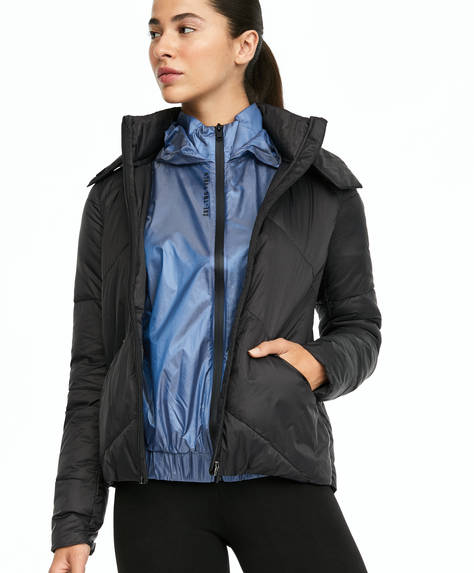 Ultra-light pack and go jacket.