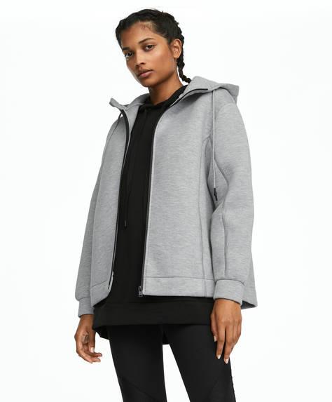 Grey oversize jacket