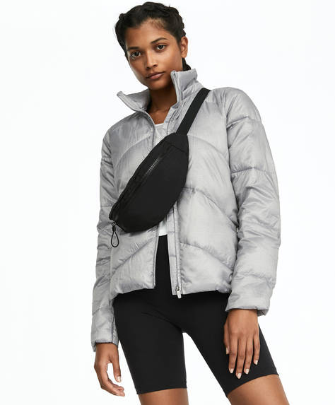 Padded grey jacket