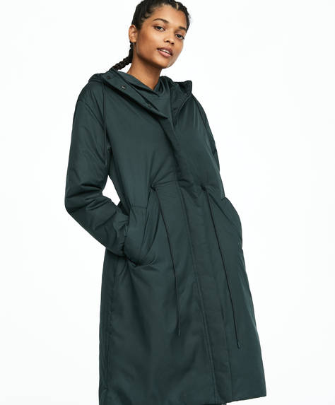 Long Padded Jacket by Oysho