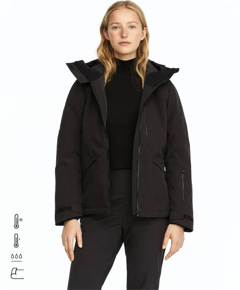 Black waterblock SKI jacket