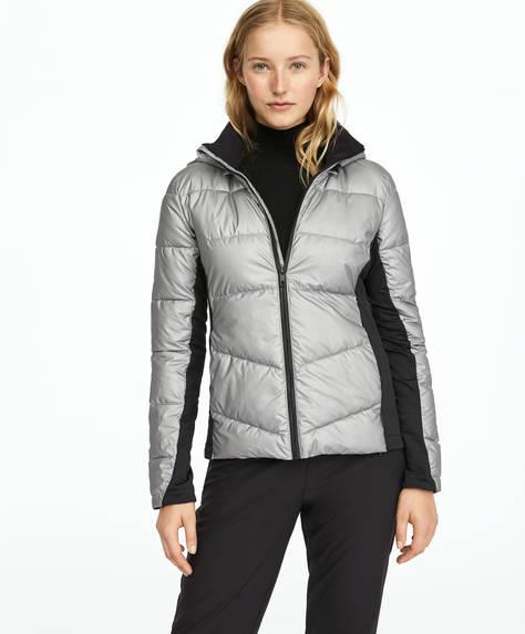 Silver PrimaLoft® SKI jacket