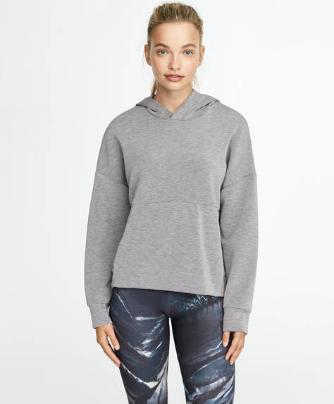 Sweat gris soft touch