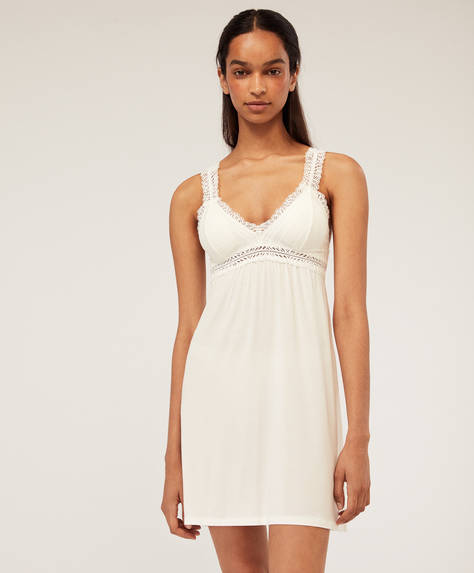 Basic lace nightdress