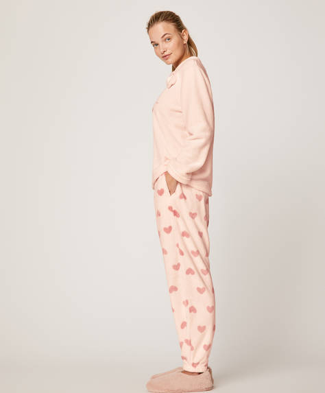 Long heart trousers