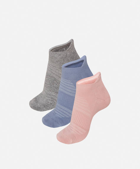 3 pairs of cotton ankle socks