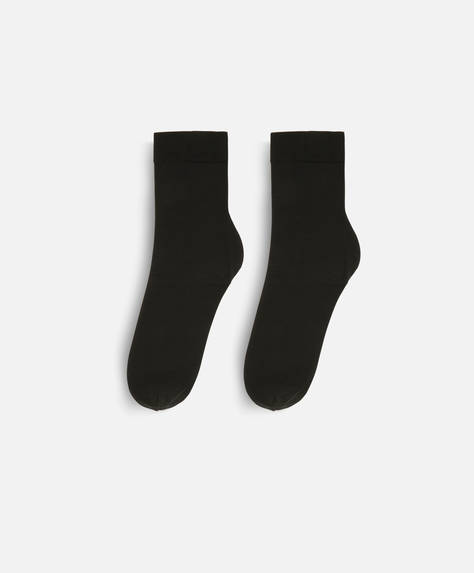 1 pair of plain premium socks