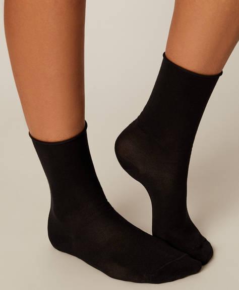 Sada 3 párů bezešvých termických ponožek