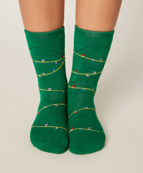 1 pair of ugly tree socks