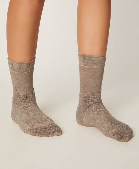1 pair of wool-rich socks