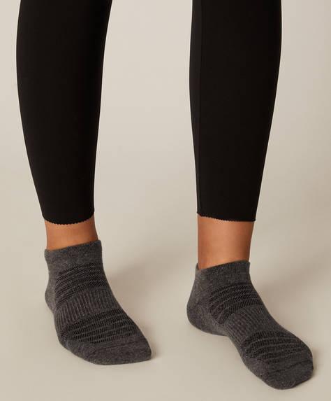 3 Paar Sneakersocken aus Baumwolle
