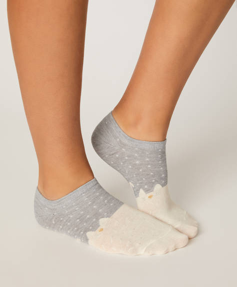 5 pairs of cat ankle socks