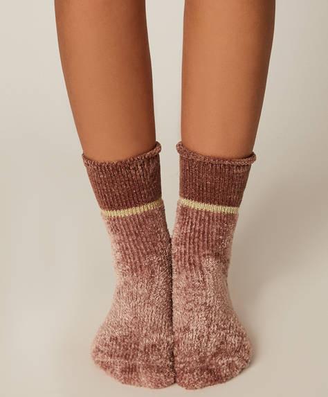 1 Paar kuschelig warme Socken