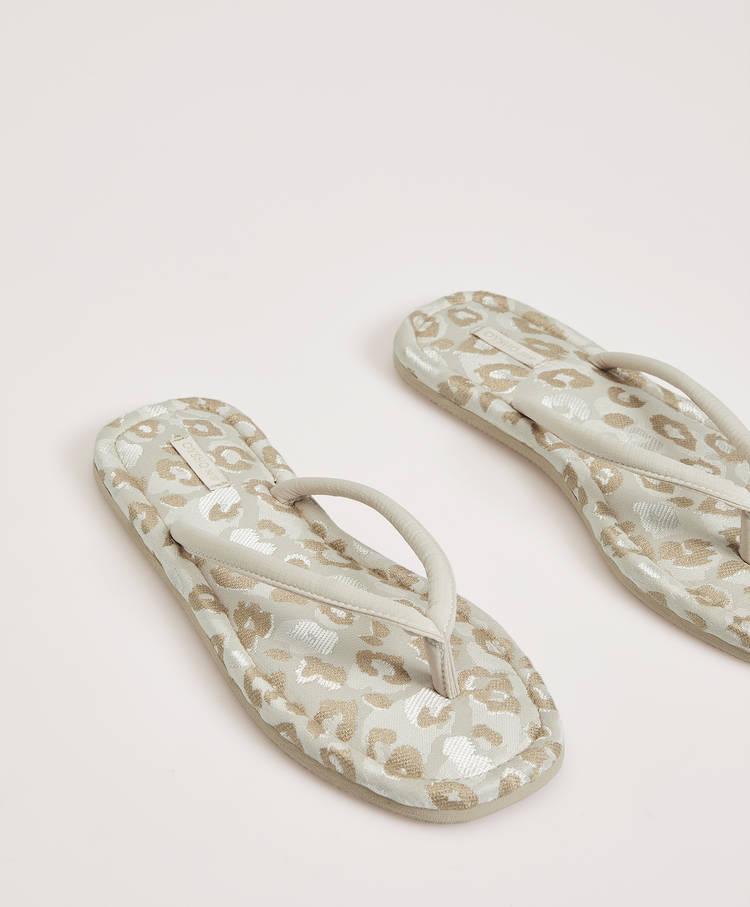 701baac88a79 Leopard print sandal slippers - Slippers - Pyjamas and homewear ...
