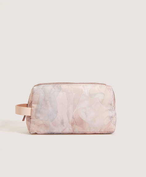 Double zip wash bag