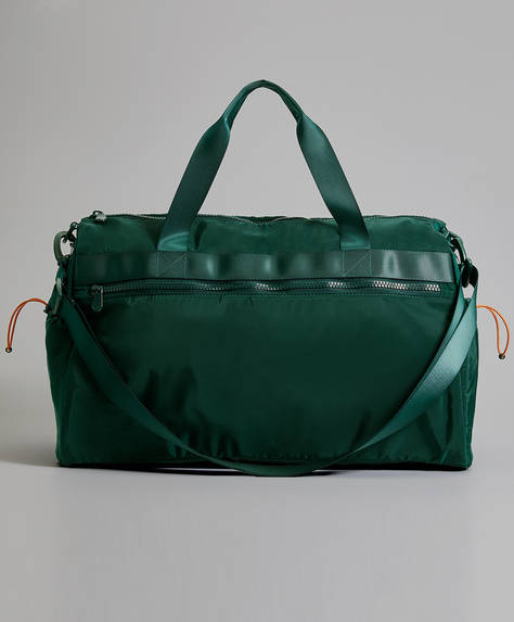 Sports bag with mountain details