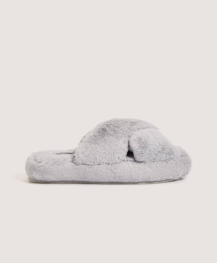 59b5f420f74 Fuzzy flatform house slippers - Best Sellers - New In