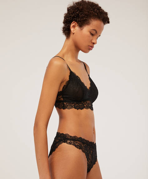 Cueca de renda Essential Lace