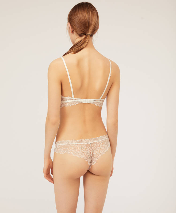 8ca0b68aea9 Essential Lace hipster thong - Thongs - Briefs - Lingerie