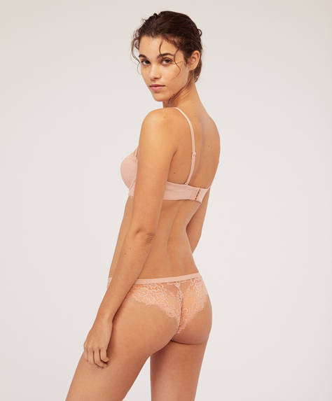 Essential Lace Brazilian briefs