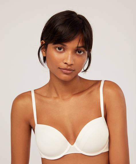 Microfibre classic bra