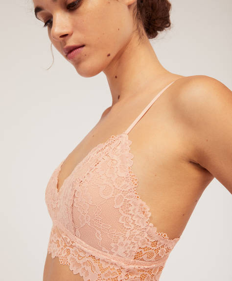 Brasier triangular Essential Lace