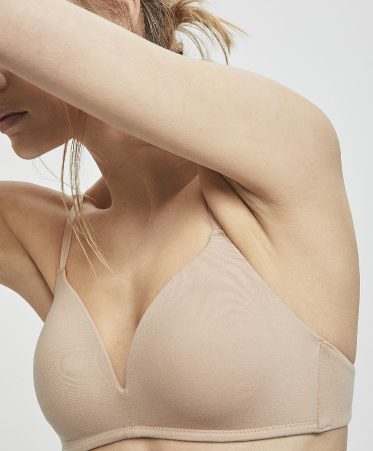 69d3b1dc5 Non-wired cotton bra - Join Life Collection - JOIN LIFE
