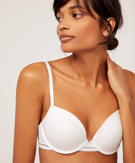 Cotton push-up bra