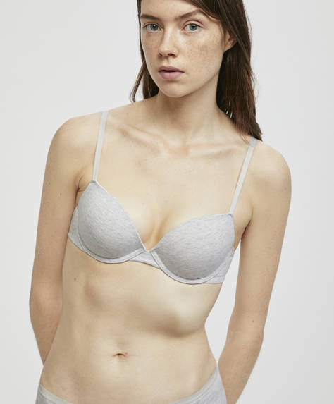 Reggiseno push - up in cotone