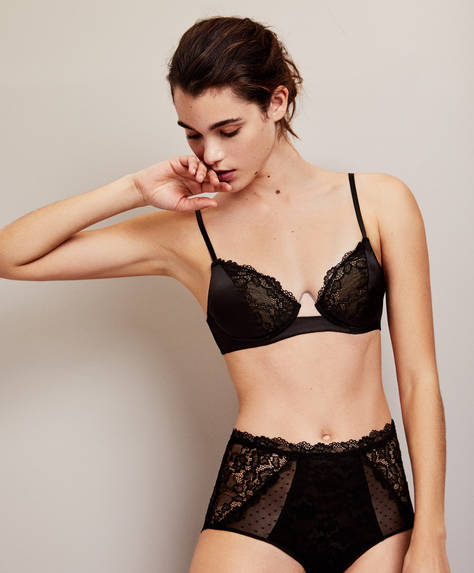 Basic essential lace bra