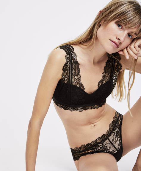 Bralette in pizzo Essential Lace