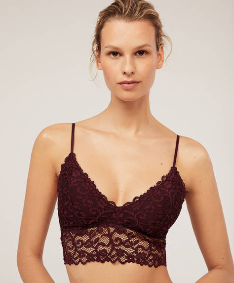 Triangel-Bralette