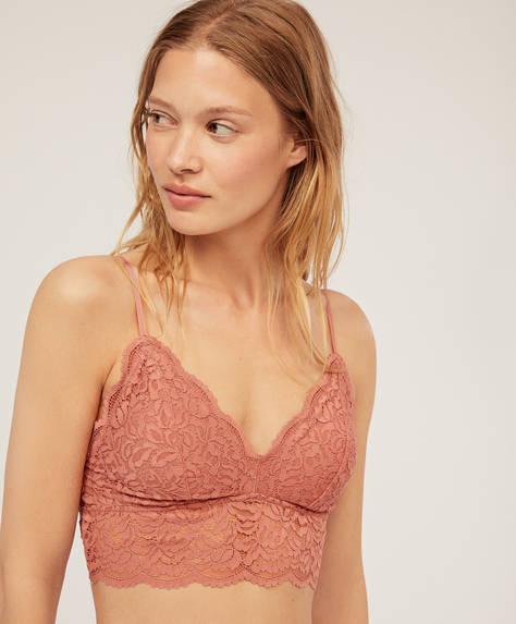 Bralette crochet lace