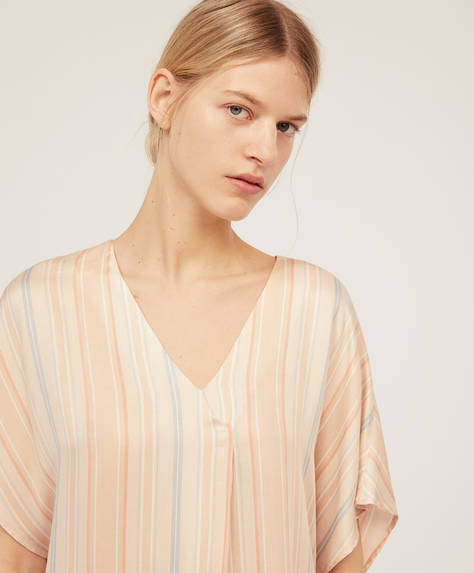 Soft striped T-shirt