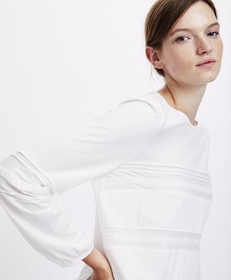 Рубашка в викторианском стиле