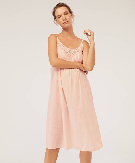 Pink nightdress