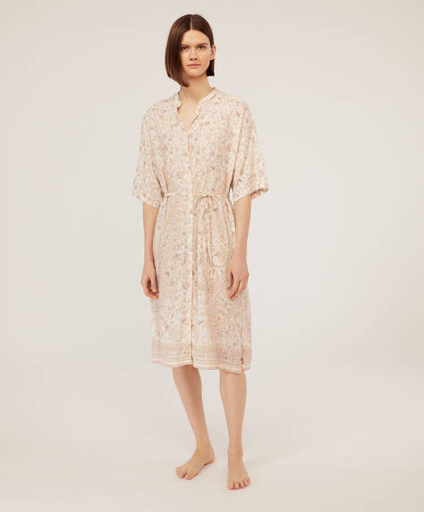 Long print nightdress